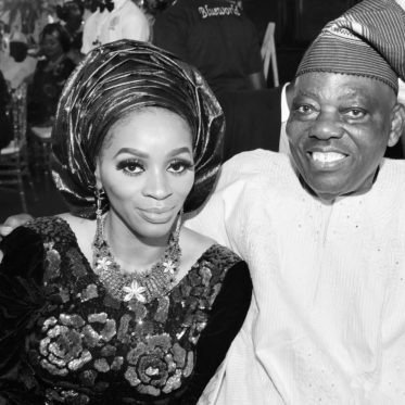 Mrs Shade Okoya and her husband, Chief Rasaq Okoya – 2018
