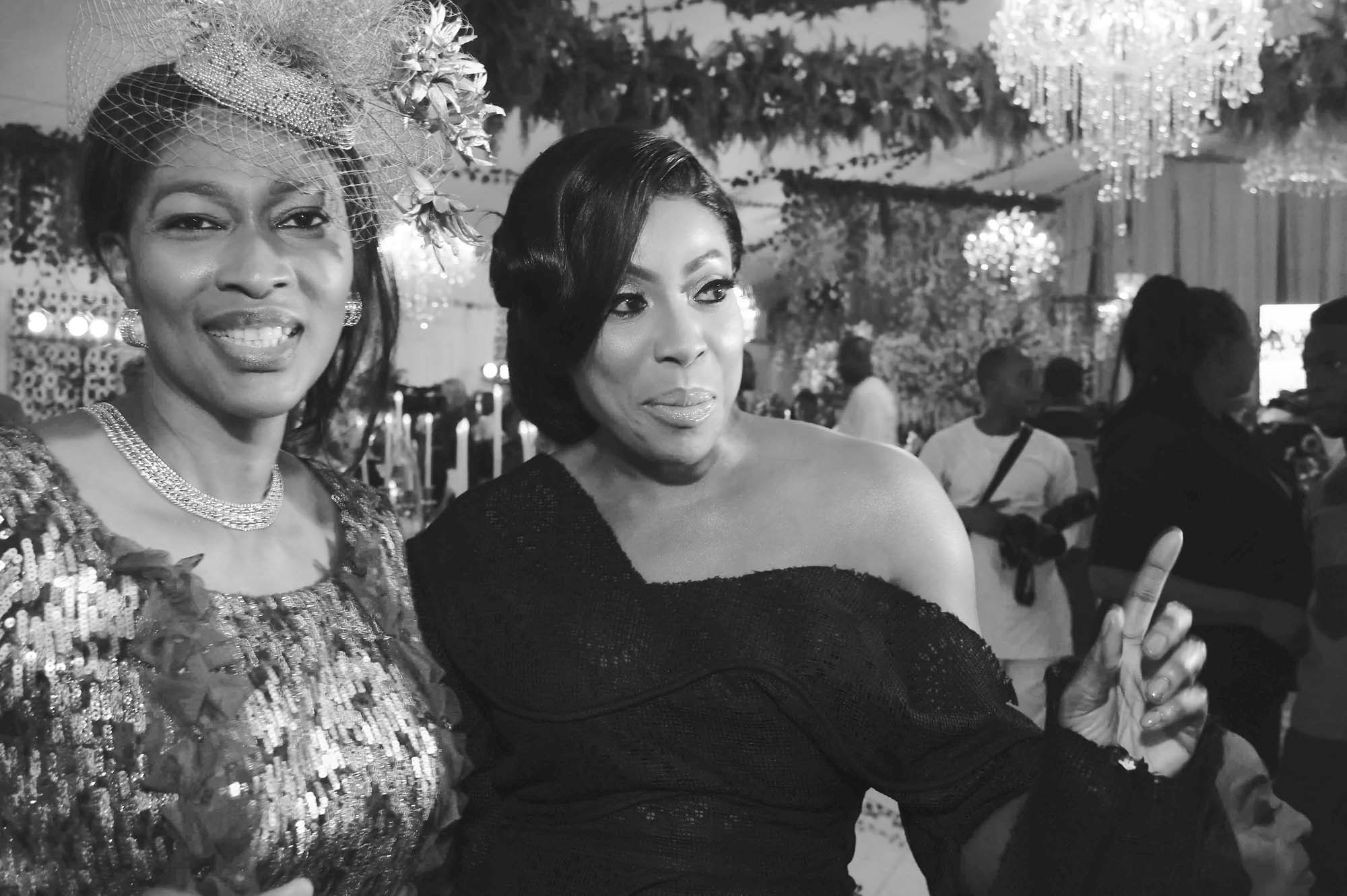 Mrs Onari Duke-left, and MO Abudu