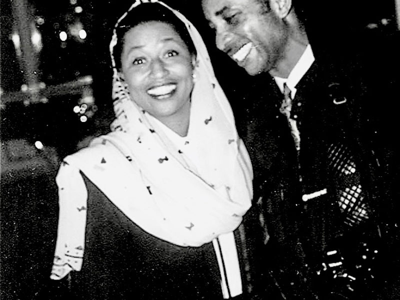 First female African American U.S. Senator Carol Moseley-Braun and Sunmi Smart-Cole  –  Charlotte, North Carolina, September 2003