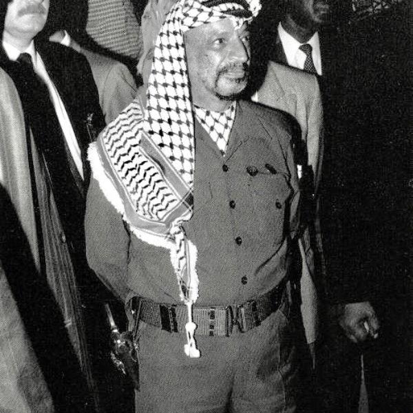President of Palestine Yaser Arafat – Jakarta, Indonesia – 1991